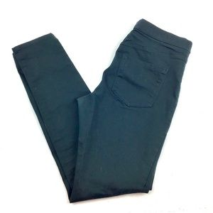 H&M Forest Green Dark Dyed Pull On Jegging 10